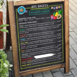 Menus for Bagels & Coffees